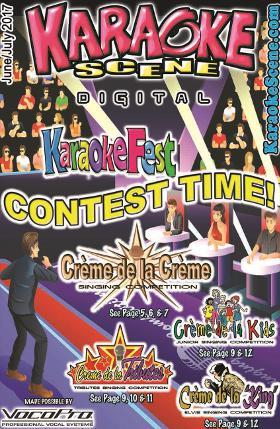 Karaoke Scene Cover June July