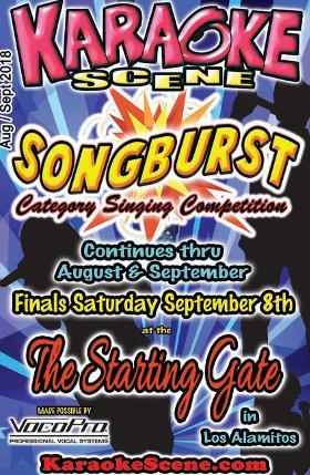 Karaoke Scene Cover August September
