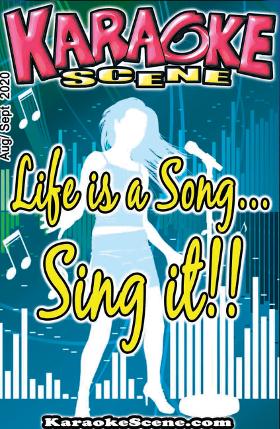 Karaoke Scene Cover Aug Sept 2020