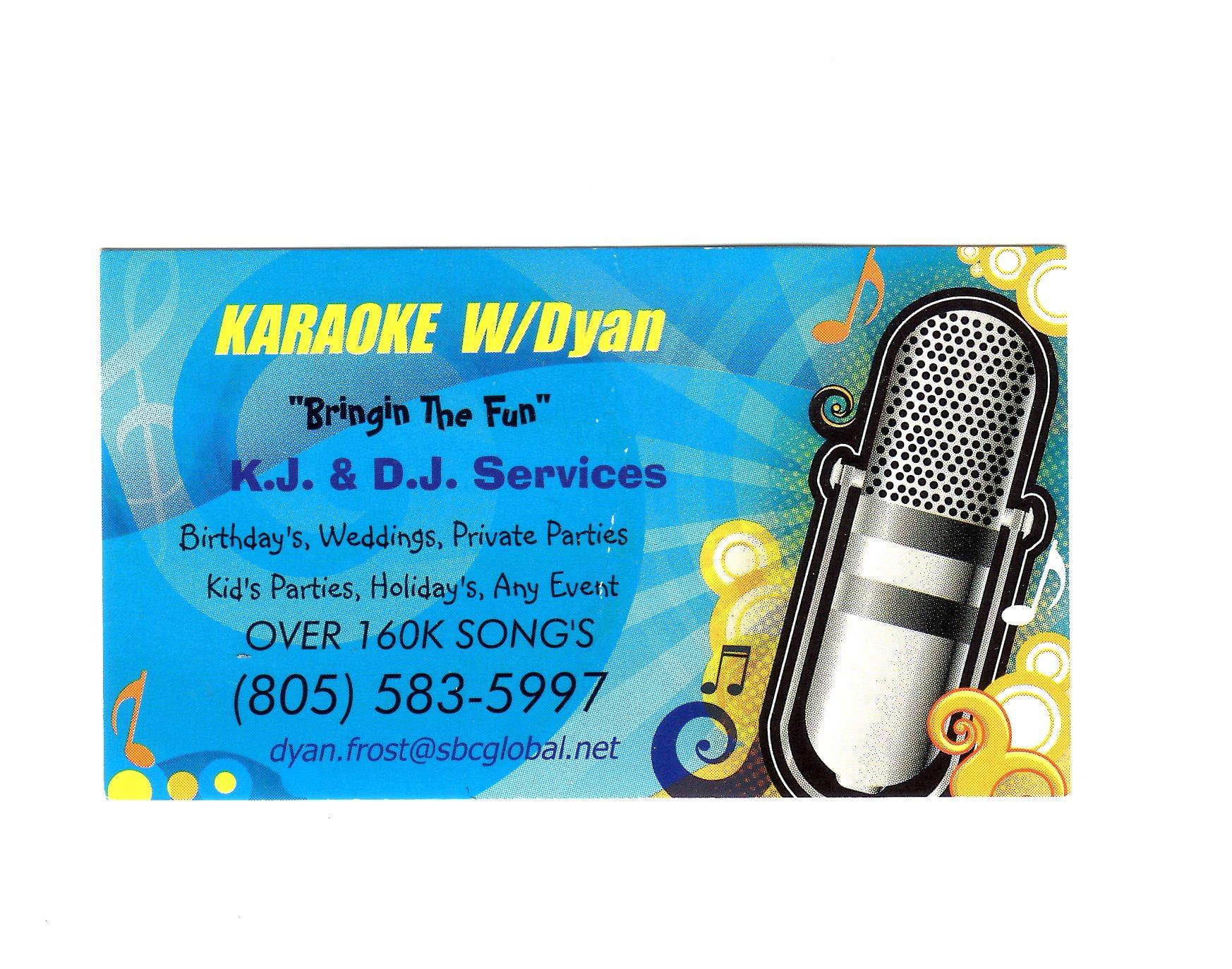 KJ/DJ w/Dyan