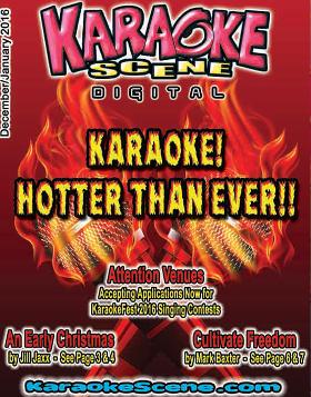 December 2015 Karaoke Scene Cover