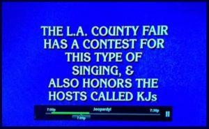 jeopardy karaokefest